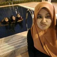 Photo taken at Swimming Pool Anggun Apartment by Hanim N. on 8/1/2016