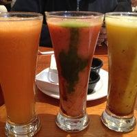 Photo taken at Meli Cafe & Juice Bar by K U. on 3/17/2013