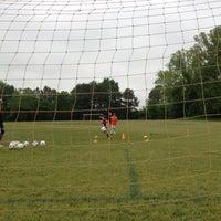 Photo taken at Preston Soccer Fields by Danny C. on 5/1/2013