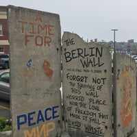 Photo taken at Berlin Wall by Jonathan M. on 5/30/2017