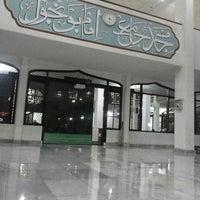 Photo taken at Masjid Imam Bonjol by Fiki I. on 1/21/2014