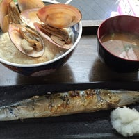 Photo taken at 根室食堂 道玄坂店 by Eiji F. on 4/7/2015