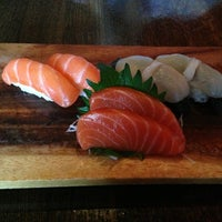 Photo taken at Aka Sushi House by Tiffany S. on 7/19/2013