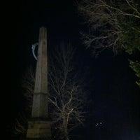 Photo taken at Riegrův obelisk by Lada 🐰 on 12/25/2012