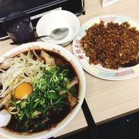 Photo taken at 新福菜館 府立医大前店 by うみ u. on 2/12/2017