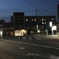 Photo taken at 新町通武者小路トライアングル by うみ u. on 6/25/2018