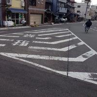 Photo taken at 新町通武者小路トライアングル by うみ u. on 1/9/2015