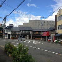 Photo taken at 新町通武者小路トライアングル by うみ u. on 9/6/2013