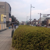 Photo taken at 堀川 跡 by うみ u. on 3/16/2014