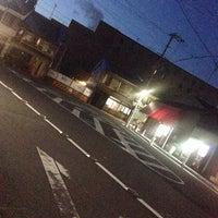 Photo taken at 新町通武者小路トライアングル by うみ u. on 6/12/2014