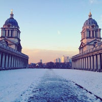 Photo taken at University of Greenwich (Greenwich Campus) by Mariam A. on 1/21/2013
