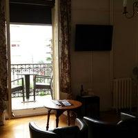 Photo taken at Hôtel Helvetie by Aña on 7/19/2014