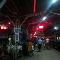 Photo taken at Platform 9 @ Bangalore City Junction by Krishna A. on 10/12/2012