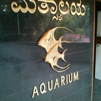 Photo taken at Government Aquarium, Cubbon Park by Krishna A. on 3/24/2013