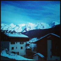 Photo taken at Le Grand-Bornand by Romain C. on 3/16/2013