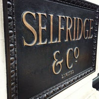 Photo taken at Selfridges & Co by DenDo A. on 1/28/2013