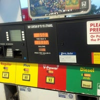 Photo taken at Shell by Jai F. on 10/26/2012