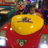 Photo taken at Chuck E. Cheese's by Alice K. on 6/1/2017