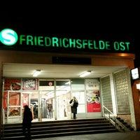 Photo taken at S Friedrichsfelde Ost by Thaarlian S. on 2/25/2016