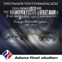 Photo taken at Ozel Adana Final Okullari by Ferda on 11/10/2016