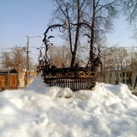 Photo taken at Памятник Корзине by Kseniya S. on 2/20/2013