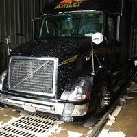 Photo taken at ashley truck wash by Ms_BlastTyrant on 1/4/2014