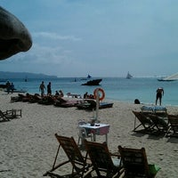 Photo taken at Diniwid Beach by bacterium_adok on 1/20/2013