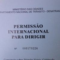 Photo taken at RENACH - Registro Nacional de Carteira de Habilitação by Alice M. on 7/19/2013