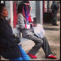 Photo taken at WMATA Bus Stop #1001140 (X1, X2, X9) by Eric P. on 4/15/2013
