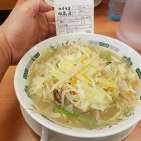 Photo taken at 日高屋 八丁堀新大橋通店 by Shinichi O. on 5/17/2017
