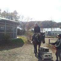 Photo taken at 軽井沢乗馬倶楽部 by Kouji E. on 11/5/2012