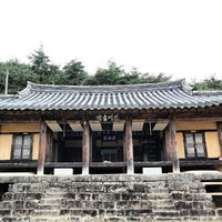Photo taken at 화천서원 by Won C. on 9/28/2013