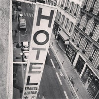 Photo taken at Hotel France Albion by Aida A. on 5/18/2013