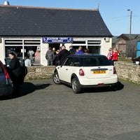 Photo taken at Quayside Chippy and Cafe by Patrick R. on 4/18/2014