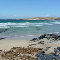 Photo taken at Balnakeil Bay by Patrick R. on 4/12/2015