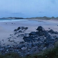 Photo taken at Balnakeil Bay by Patrick R. on 1/1/2016