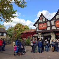 Photo taken at Chessington World of Adventures Resort by Mike W. on 10/13/2012