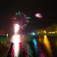 Photo taken at Mooragh Park by Mike W. on 11/6/2013