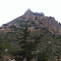 Photo taken at Saint Hilarion Castle by Uğur Barış T. on 5/19/2013