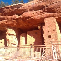 Photo taken at Manitou Cliff Dwellings by James M. on 12/8/2012