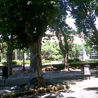 Photo taken at Plaza San Martín by Elisa on 11/25/2012
