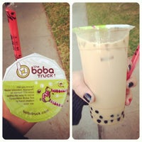 Photo taken at The Boba Truck by Yesenia on 2/4/2014