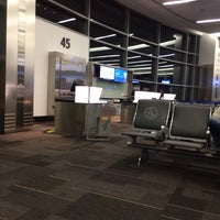 Photo taken at Gate 45 by C W. on 2/14/2014