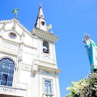 Photo taken at Sanctuary of Our Lady of Penha de France by Arquidiocese de São Sebastião do Rio de Janeiro on 10/10/2012
