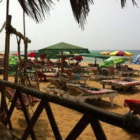Photo taken at Candolim Beach by Ivan S. on 2/15/2013
