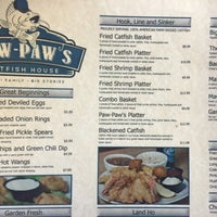 Photo taken at Paw-Paw's Catfish House by Adam M. on 1/3/2016