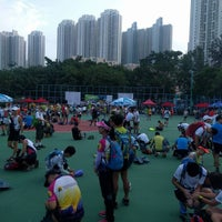 Photo taken at Sam Ka Tsuen Recreation Ground 三家村遊樂場 by YUEN M. on 10/22/2016