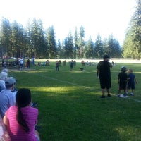 Photo taken at Spanaway Park by Secret W. on 7/4/2013