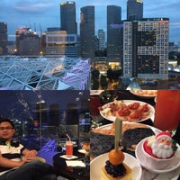 Photo taken at Meritus Club Lounge by Jom L. on 12/13/2015