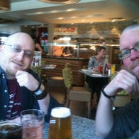 Photo taken at Harvester by Stacey M. on 3/12/2014